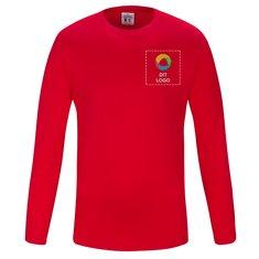 CottoVer® GOTS langærmet herre-T-shirt i T-shirt