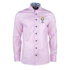 J.Harvest & Frost Purple Bow 145 skjorte med normal pasform