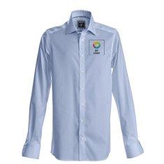 J.Harvest & Frost sort Bow 60 skjorte med slank pasform