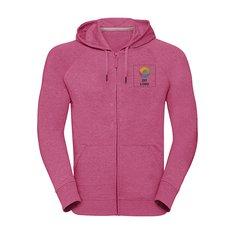 Russell™ HD sweatshirt med hætte og lynlås til herrer