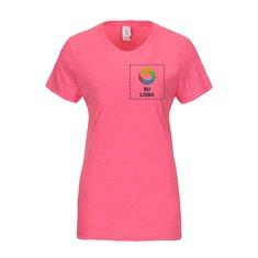 Camiseta Perfect Tri™ de cuello redondo para dama de District Made®