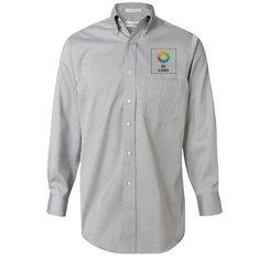Camisa tipo Oxford Van Heusen Pinpoint de fácil mantenimiento