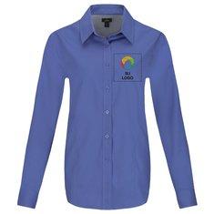 Camisa Wilshire de manga larga para dama de Elevate