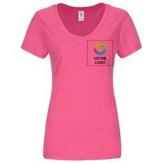 T-shirt femme à col en V PerfectTriMD DistrictMadeMD
