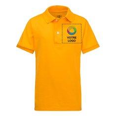 Chemise sport enfant jersey à manches courtes SpotShieldMC JERZEESMD