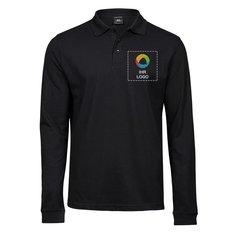 Tee Jays® Luxury Stretch Long Sleeve Polo Shirt