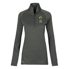 Eddie Bauer® Ladies 1/2-Zip Base Layer Fleece Jacket