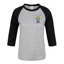 Port & Company® Youth ¾ Sleeve Raglan T-Shirt