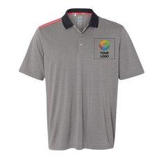 adidas® Climacool 3-Stripes Shoulder Polo