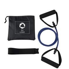 Banda elástica de yoga con bolsita de transporte