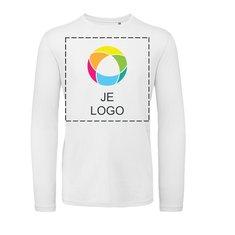 B&C™ Inspire heren-T-shirt met lange mouwen