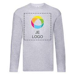 Fruit of the Loom® Original T-shirt met lange mouwen