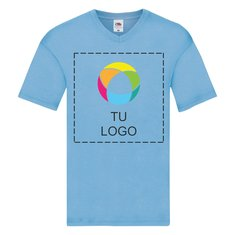 Camiseta de cuello de pico Original de Fruit of the Loom®