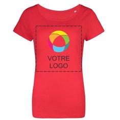 T-shirt femme trois matières de B&C™