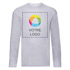 T-shirt à manches longues Original de Fruit of the Loom®