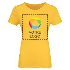 T-shirt femme en coton biologique de B&C™
