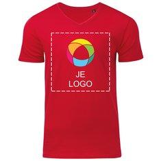 B&C™ Biologisch Heren-T-shirt met V-hals