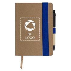 Libreta Eco con encuadernado sin costura y bolígrafo