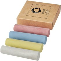 Bullet™ 4-Piece Chalk Set in Natural Box