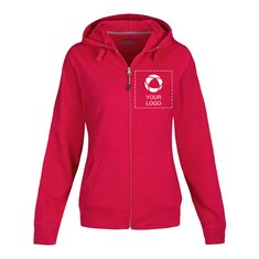 Slazenger™ Open Full Zip Hooded Ladies Sweater