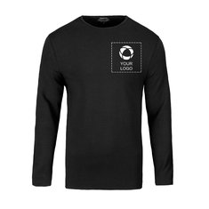 Herren-T-Shirt Curve von Slazenger™, Langarm