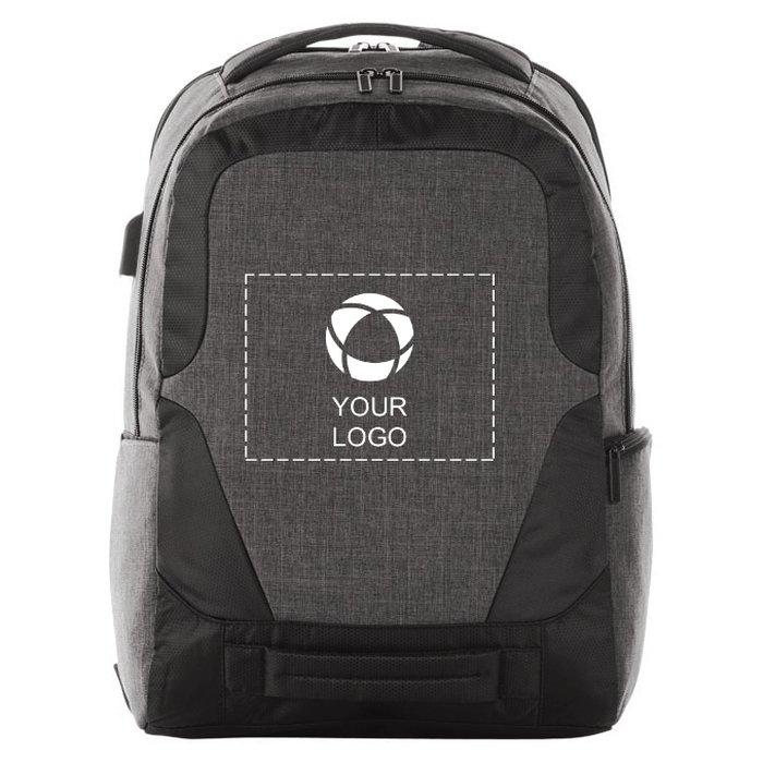 "Avenue™ Overland 17"" TSA Computer Backpack with USB Port"