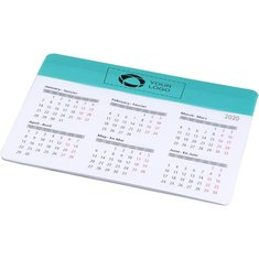 Bullet™ Chart Mouse Pad with Calendar