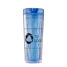Vaso térmico geométrico Flip n Sip para bebida caliente o fría de Avenue™