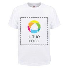 Maglietta da bambino 100% cotone Fruit of the Loom®