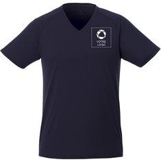 T-shirt homme à col enV et manches courtes CoolFit Amery d'Elevate™