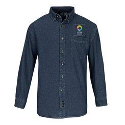 Chemise à manches longues en denim Value Port&CompanyMD