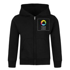 Precious Cargo® Toddler Core Fleece Full-Zip Hooded Sweatshirt