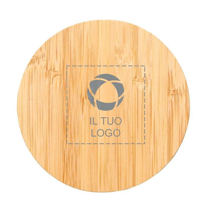 Supporto di ricarica senza fili in bambù Essence Avenue™