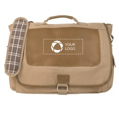 17-Zoll-Laptop-Kuriertasche Cambridge Collection von Field & Co.™