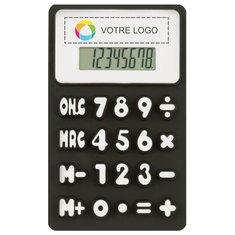 Calculatrice flexible Splitz imprimée en couleur