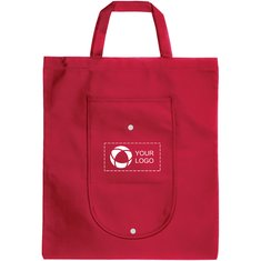 Bullet™ Maple Fold Up Non-Woven Tote