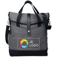 Field & Co.™ Hudson met inkt bedrukte 14 inch laptopshopper