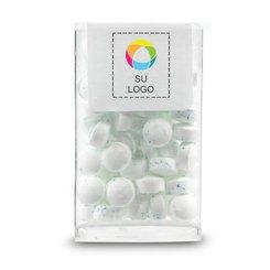 Minitubo de tapa abatible de MicroMints®, caja de 50 unidades