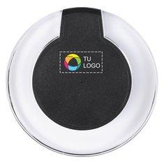 Cargador inalámbrico con tecnología Qi® y estampado a todo color Meteor de Avenue™