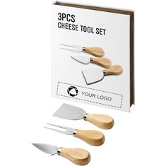 Juego de queso de tres utensilios para regalo Nantes de Avenue™