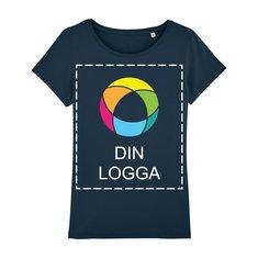 Stella Wants snäv T-shirt i dammodell med bläcktryck