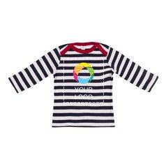 Langärmeliges Streifen-T-Shirt für Babys von Mantis™