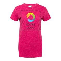 T-shirt femme à paillettes J. America
