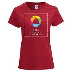 Starworld™ ekologisk T-shirt i dammodell