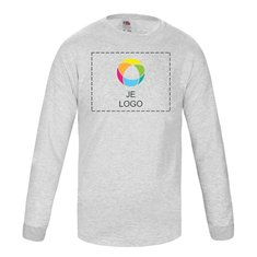 Fruit of the Loom® Valueweight Kinder-T-shirt met Lange Mouwen