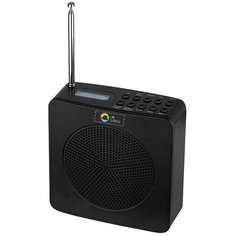 Avenue™ DAB wekkerradio met full-colour drukwerk