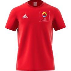 "adidas® T-shirt ""Core 18"" i herrmodell"