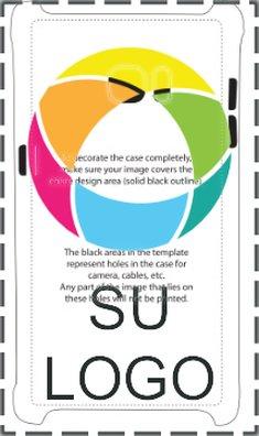 Funda brillante con impresión por sublimación para Samsung® S7 Edge
