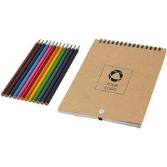 Bullet™ Claude Spiral Colouring Set