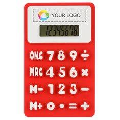 Calculadora flexible con estampado a todo color Splitz